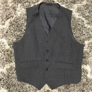 Banana Republic Gray Wool Vest